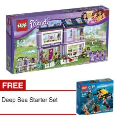 LEGO Friends - Emma`s House + Free Deep Sea Starter Set
