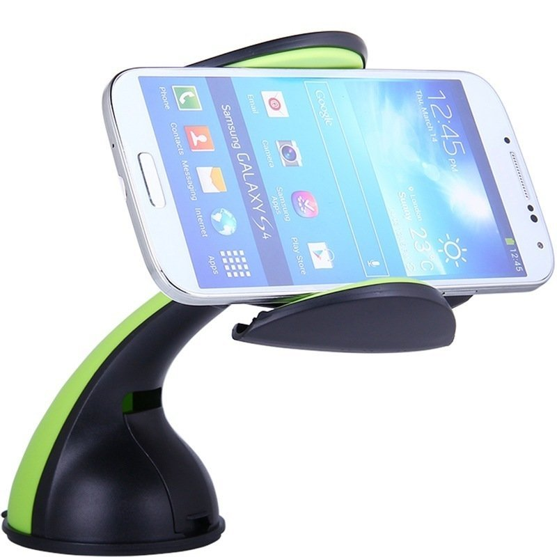 Lention C300 Car Cell Phone Mount and Holder Green