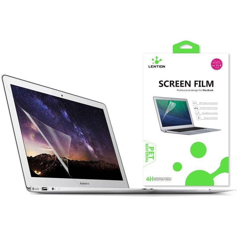 LENTION HD Transparent Screen Protector Thin Protective Guard Flim for MacBook Air 11 Inch Clear(Intl)