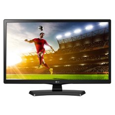 "LG 22"" LED Monitor TV Hitam - Model 22MT48AF"