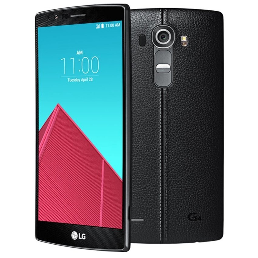 LG G4 H818P Dual SIM 4G LTE - 32GB - Leather Black