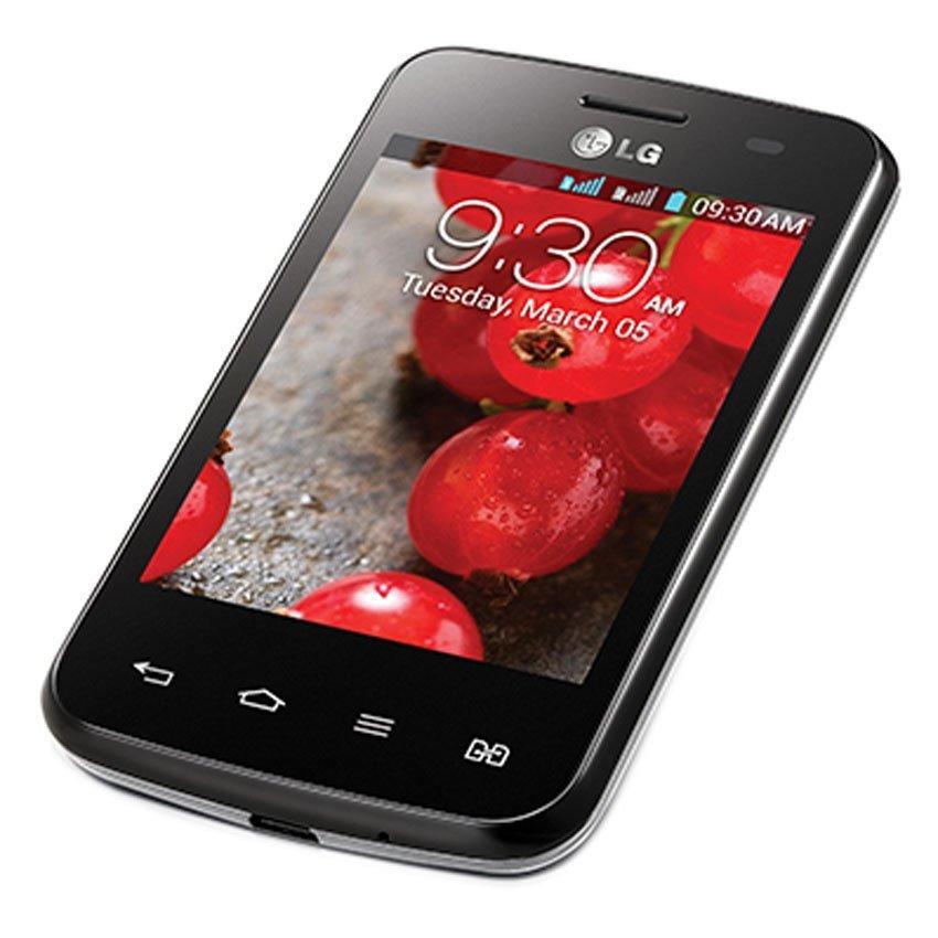 LG Optimus L3ii Dual E435 - 4 GB - Hitam