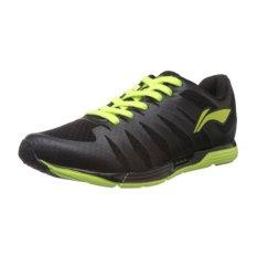 Li-ning Sepatu Lari ARBJ065-2 BK/YL - Hitam