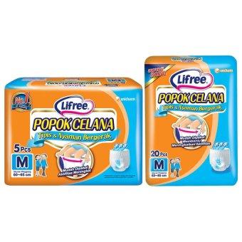Lifree Popok Celana M 5 lifree popok celana tipis nyaman bergerak m20 lifree .