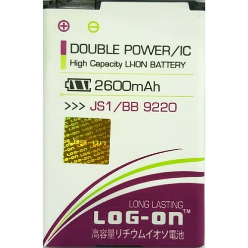 Log-on Baterai Double Power Blackberry 9220 JS-1 2600mah