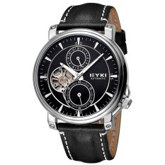 Louiwill Men Brand EYKI Watches Automatic Mechanical Movement Women & Men's Watch Business Casual Fashion WristWatches Montre Homme (Black) - Intl