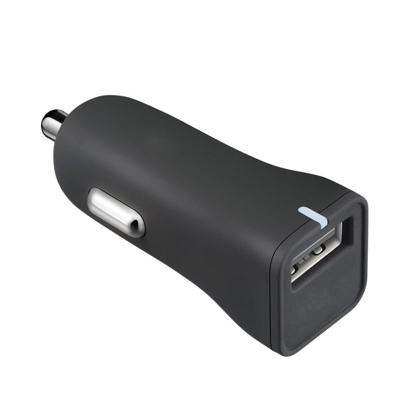 louiwill Preminum Aluminium Mini USB 2.0 Car Charger Quick Charge(Black) (Intl)