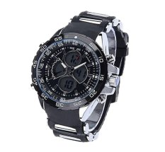 Louiwill WEIDE Mens Analog Digital LCD Screen LED Watches (Black) (Intl)