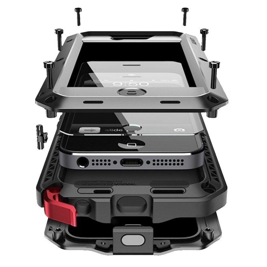 Lunatik Taktik Extreme Case Untuk iPhone5 - Hitam