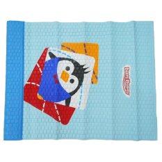 Lusty Bunny Perlak Bayi Motif Pinguin Biru - Ukuran 55 x 80 cm