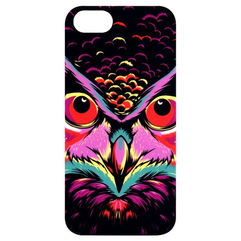 Luxo Luminous Fluorescent Night Glowing Hardcase Eagle Series untuk iPhone SE / 5S / 5