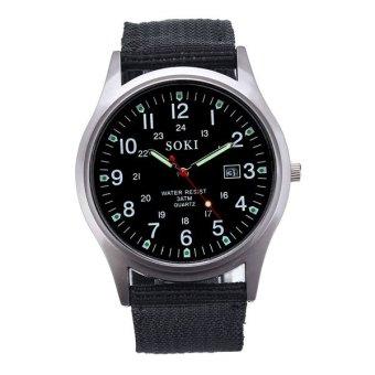 Luxury Fashion Mens Quartz Analog Watches Watch Black Free Shipping Free Shipping