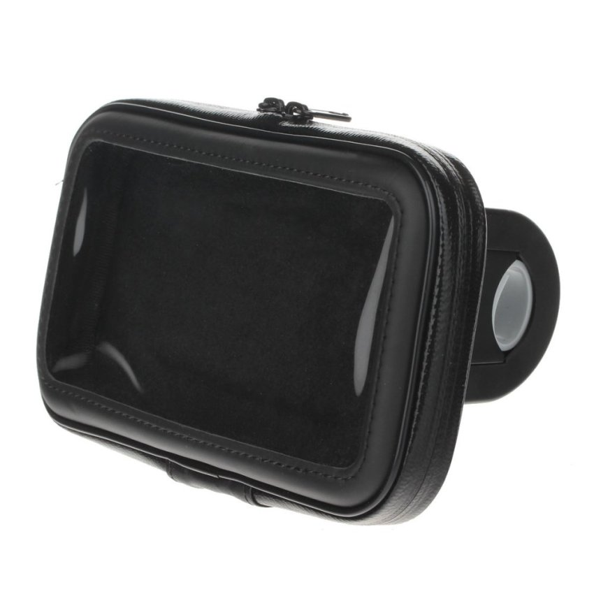 M09 360 Degree Rotation Bracket w/ Waterproof PU Leather Bag for Note 1 2 3 N7100 N9006 - Black (Intl)