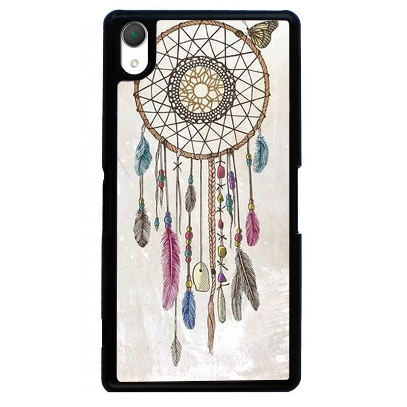 Magic Dreamcatcher Printed Phone Case for SONY Xperia Z3 (Black)