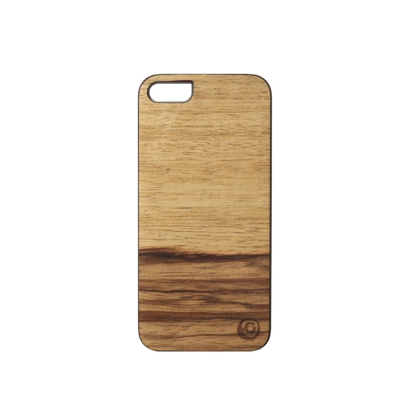 Man & Wood Terra Wood Phone Case For iPhone SE / 5S / 5 Black