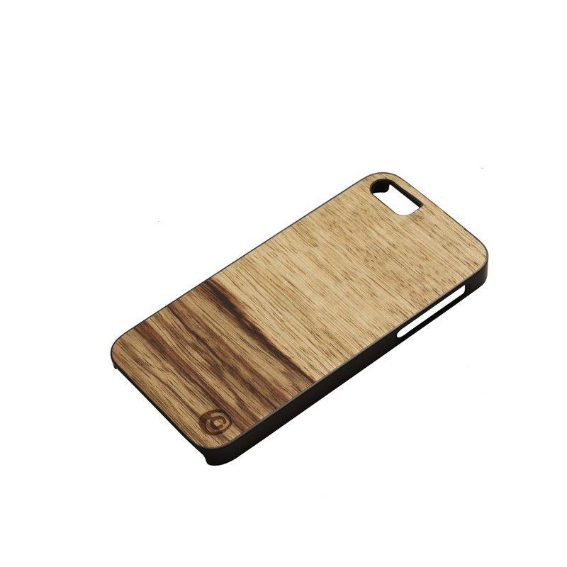 Man & Wood Terra Wood Phone Case For iPhone SE / 5S / 5 Black
