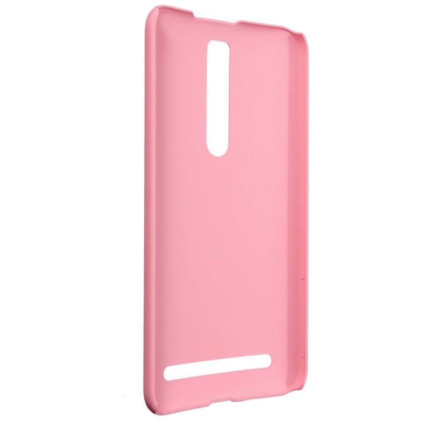 Matte Hard Shell Case for ASUS Zenfone 2 5 6 (Pink) (Intl)