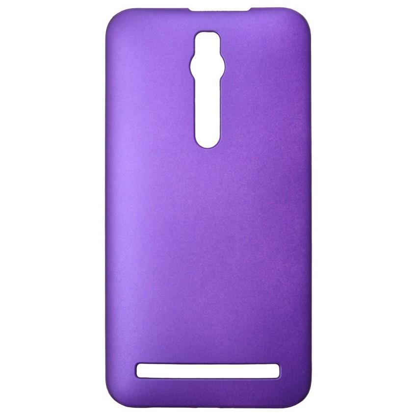 Matte Hard Shell Case for ASUS Zenfone 2 5 6 (Purple) (Intl)