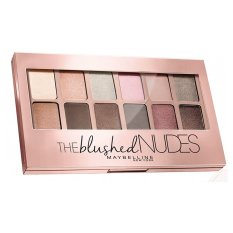 Maybelline The Blushed Nudes Eyshadow Palette - Pink