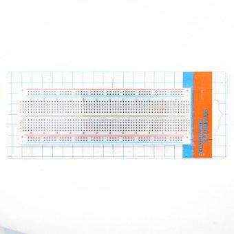 MB102 Solderless Breadboard 830 Points 2 Buses Circuit PCS Bread Board Test