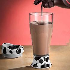 MEGA Portable Dairy Cow Automatic Self Stirring Mug Milk Coffee Tea Mixing Cup (Intl)