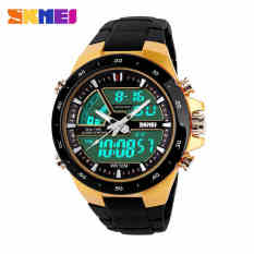 Men Sports Watches Waterproof Fashion Casual Quartz Watch Digital LED Analog Military Multifunctional Men's Sports Watches - Intl