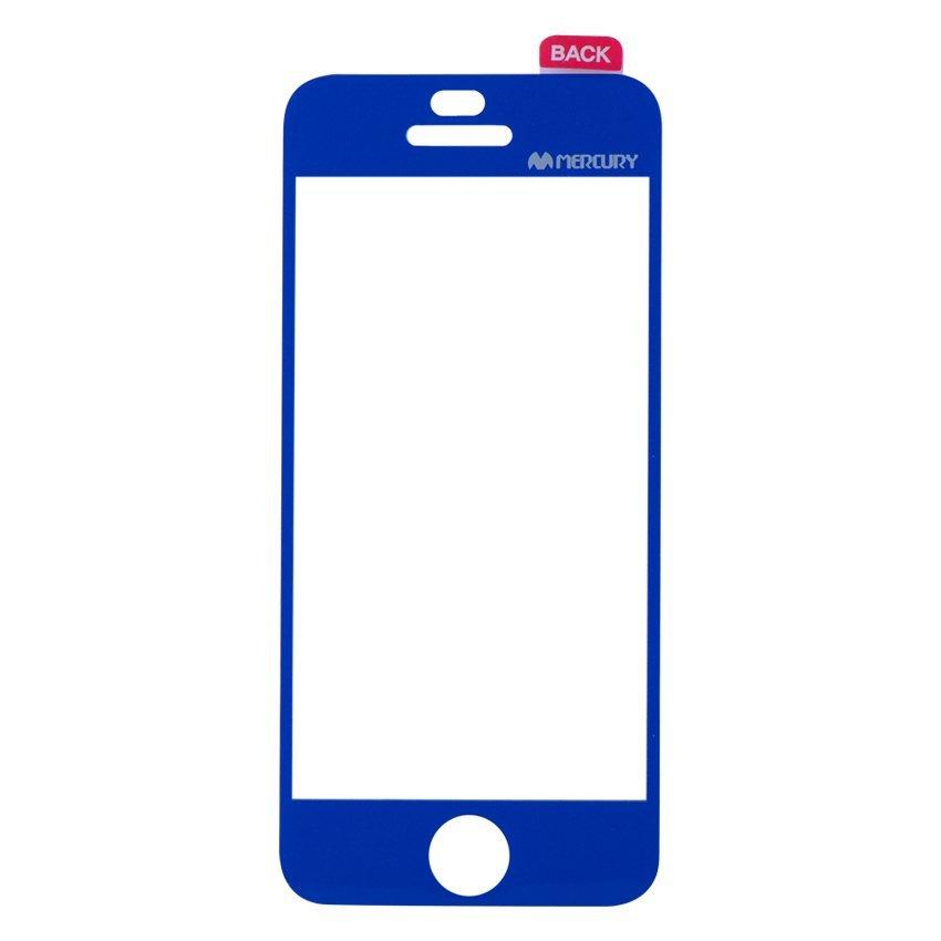 Mercury Anti-fingerprint Color Film for iPhone SE / 5S / 5 - Blue