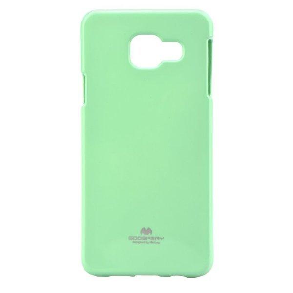 Mercury Goospery Jelly Glittercase Untuk Samsung Galaxy A3 2016 Case - Mint