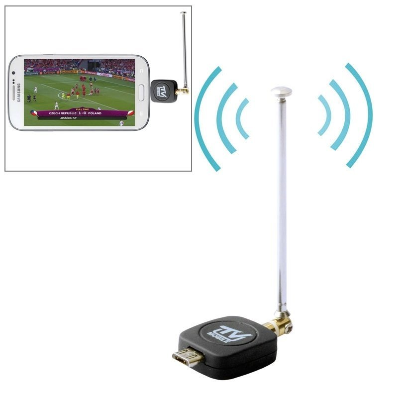Micro USB 2.0 Mobile Watch DVB-T/ISDB-T TV Tuner Stick for Android Phone/Pad