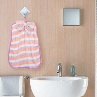 Microfiber Hand Towel Soft Plush Fabric Toalha Hanging Wipe Cloth 3
