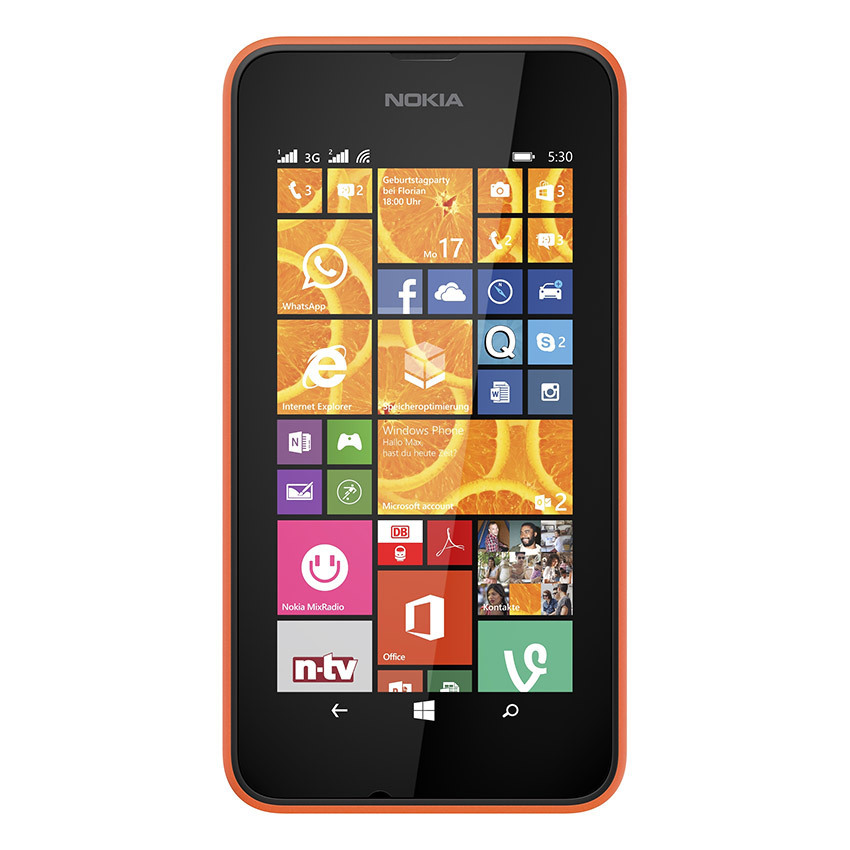 Microsoft Lumia 530 Dual SIM - 4GB - Oranye