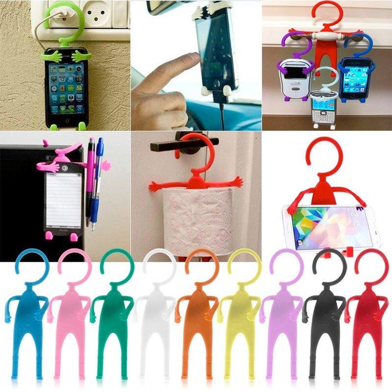 Miibox Human Shape Flexible Smartphone Holder - Putih