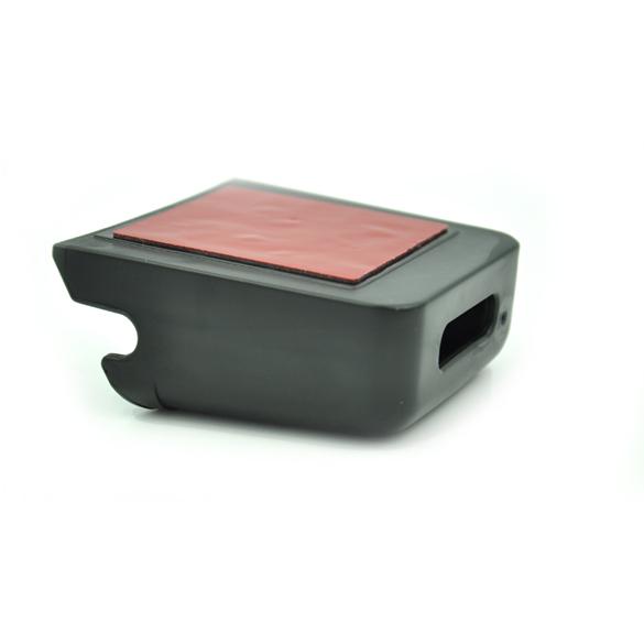 Mini Auto Storage Box Organizer Car Cell Phone Holder Black (Intl)