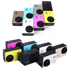 """Mini SJ4000 WiFi Full HD 1080P DV Outdoor Sports Digital Video Camera Waterproof 1.5"""" TFT 12.0 MP CMOS (Purple) (Intl)"""
