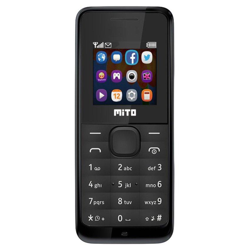 Mito 168 - Dual SIM - Hitam