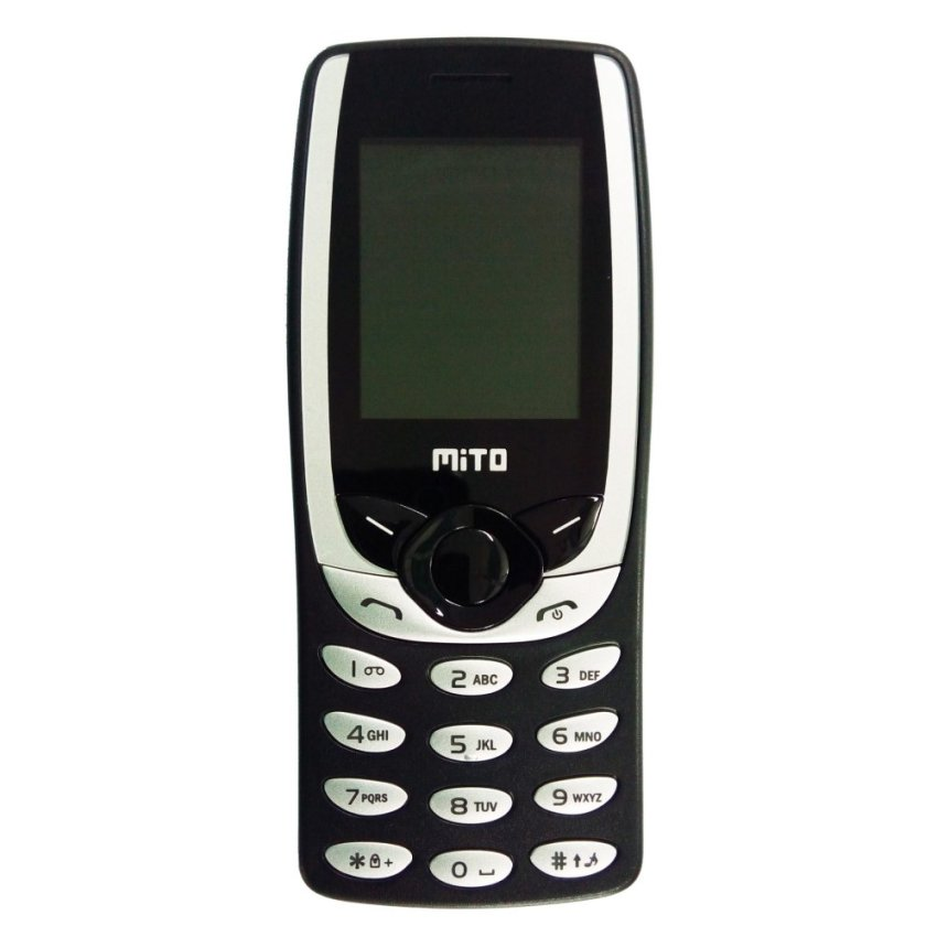 Mito 268 - Dual SIM - Hitam