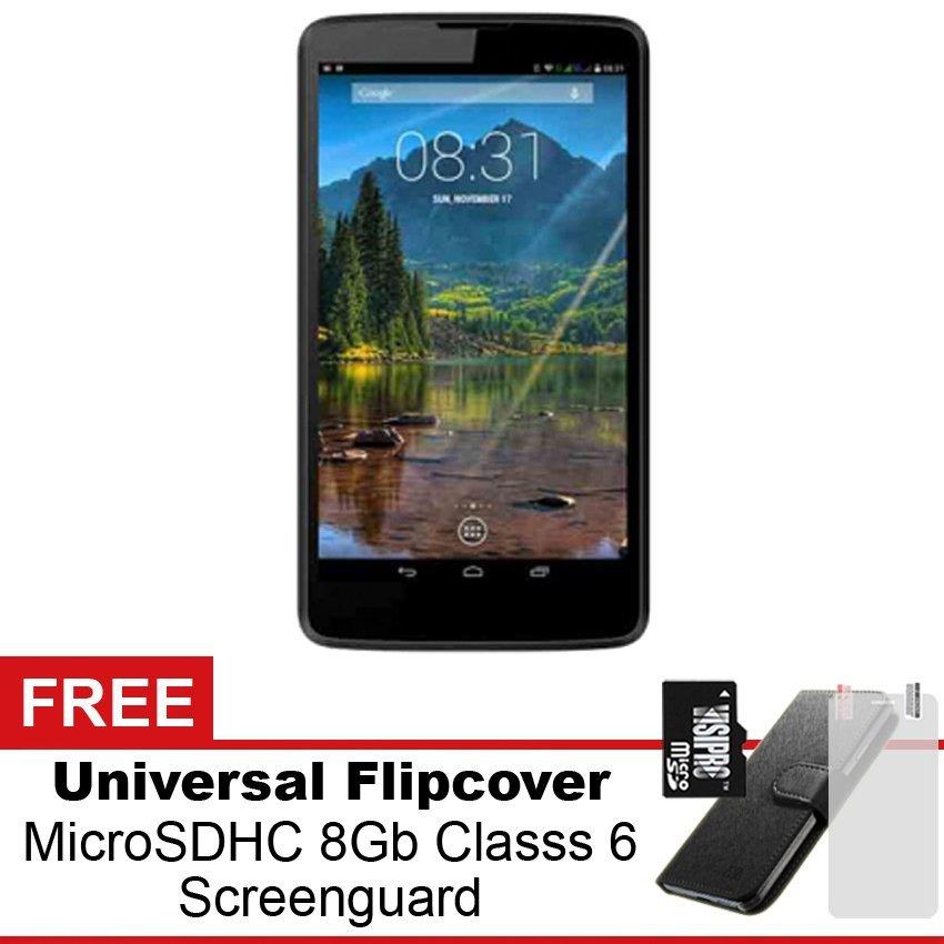 Mito Fantasy Tablet T77L - 4GB - Hitam + Gratis Paket Hadiah