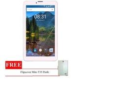 Mito T35 Fantasy Tablet - 8GB - Putih + Gratis Flipcover