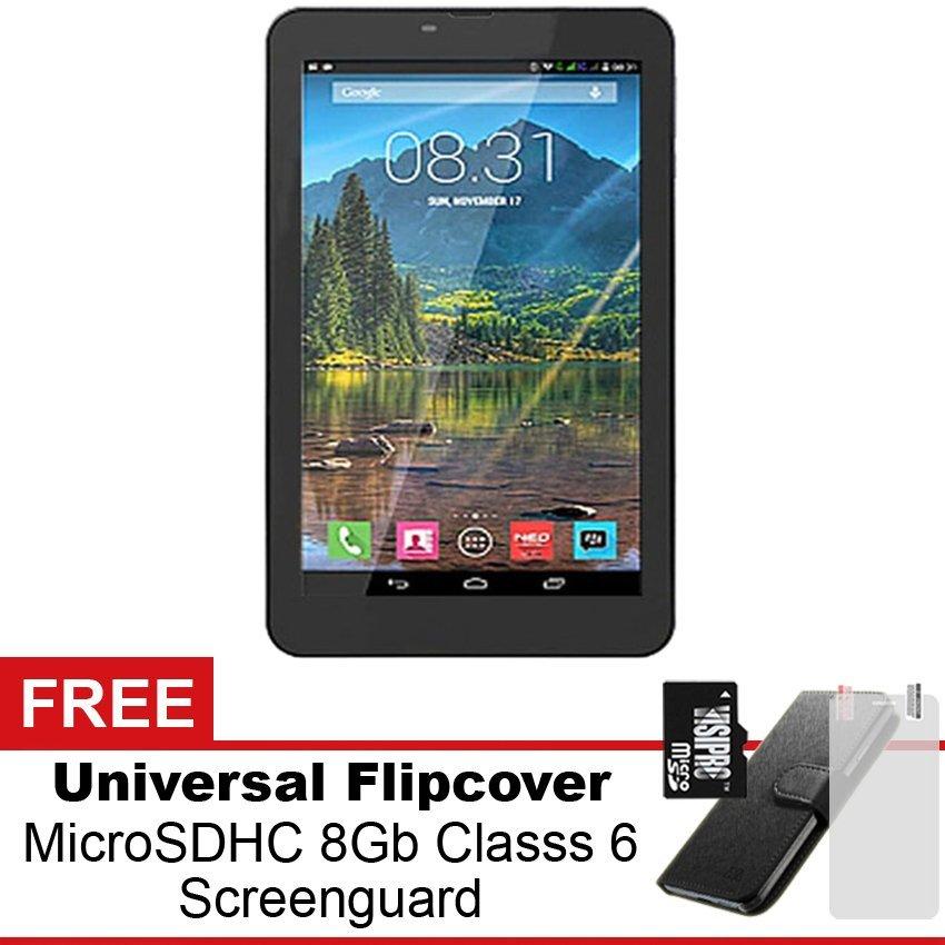 Mito Tablet T66 - 8GB - Hitam + Gratis Paket Hadiah