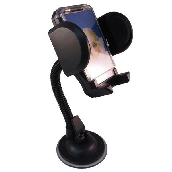 MMS Car Holder for Mobile Phone - Tripod-4 - Hitam