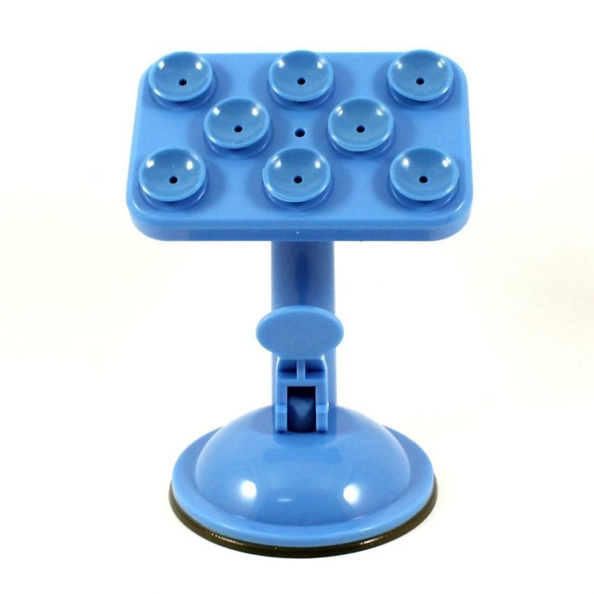 MMS Car Holder Universal Tempel For Smartphone/GPS - Biru