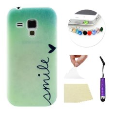 Moonmini Case for Samsung Galaxy Trend Duos S7562 Ultra-thin Soft TPU Phone Back Case Cover Green