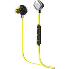 Morul U5 Plus IPX7 Wireless Bluetooth Noise Reduction In-Ear Headphone (Yellow) - INTL