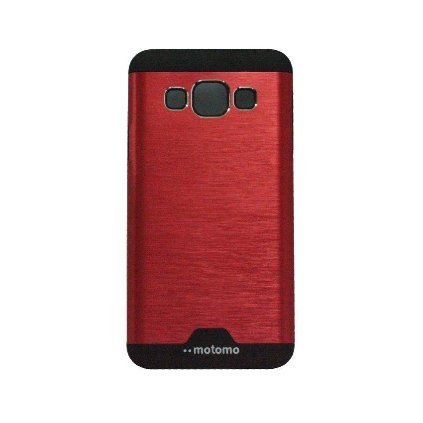 Motomo Ino Metal Case Samsung Galaxy J5 - Merah