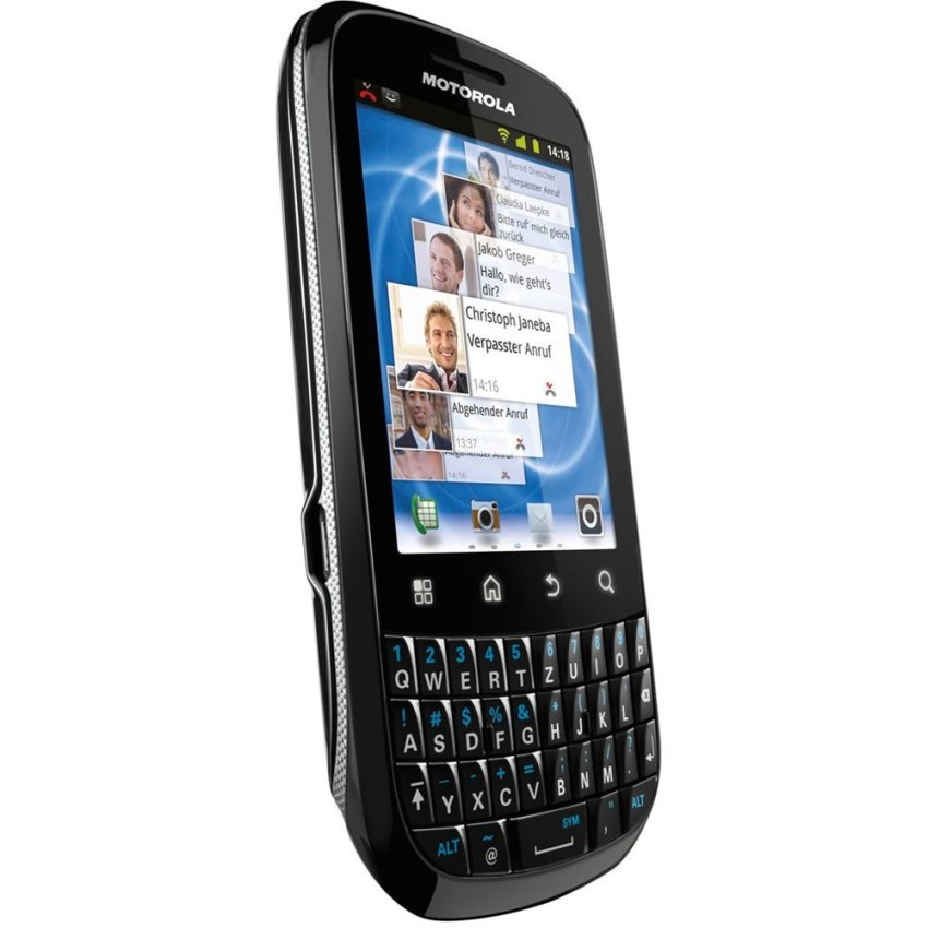 Motorola Fire XT311 - 512 MB - Hitam