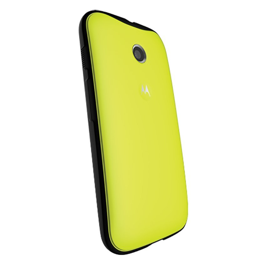Motorola Grip Shells for Moto E - Lemon Lime Yellow