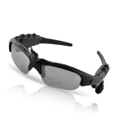 MP3 Player With Bluetooth Sunglasses (Black) - Intl