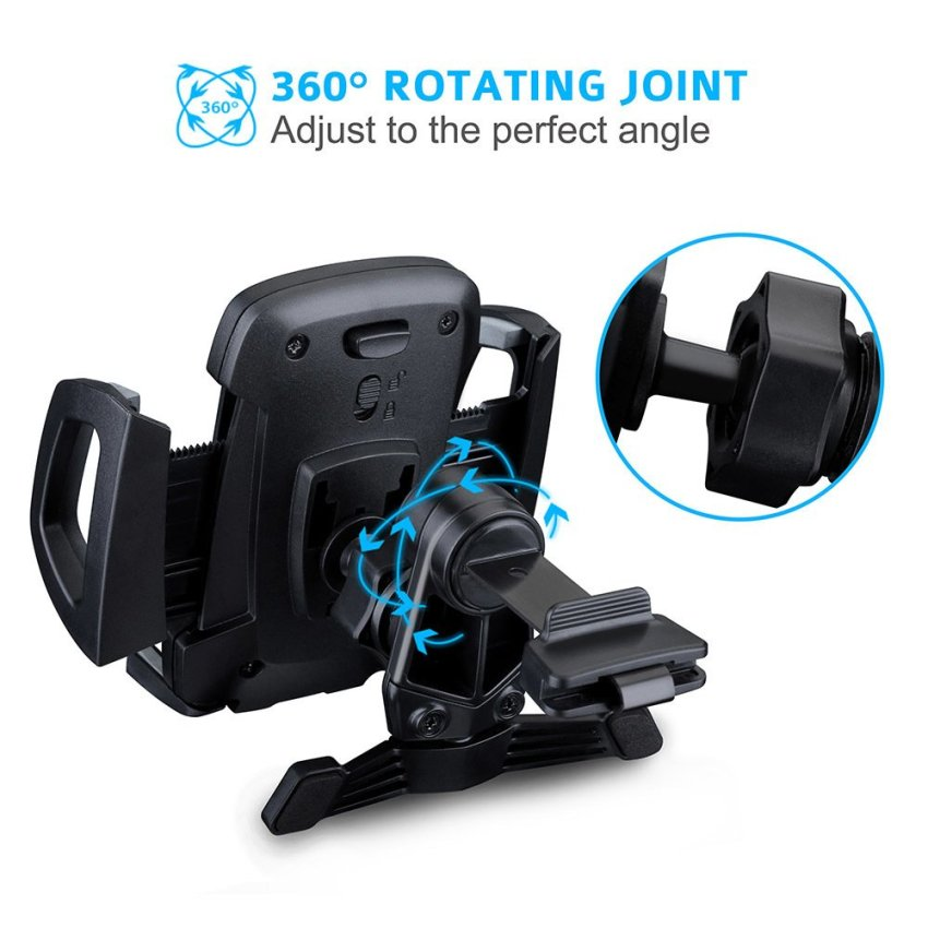 Mpow Grip Air Vent Car Mount Holder Cradle with Quick Release/Lock Button (Intl)