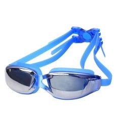 MR Kaca Mata Renang Santai Swimming Goggles Anti Fog Uv Protection - Biru