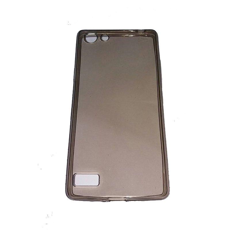 Mr Oppo Neo 7 /A33 UltraThin / UltraFit Air Case 0.3mm - Hitam Transparan